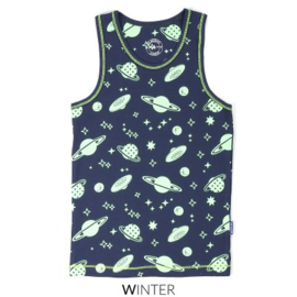 CLAESEN'S BOYS SINGLET 'GLOW IN THE DARK/COSMIC' CL185150