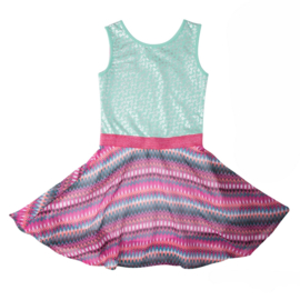 LoFff Sweet Dress Multicolour