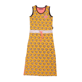 LoveStation22 Maxidress Janne - Yellow Grey
