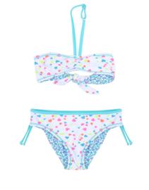 Claesen's Girls Reversible Bikini - Panther Hearts