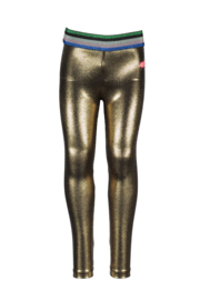Kidz-Art Fancy Coated Legging - Gold