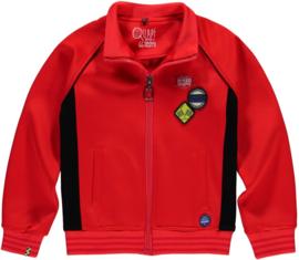 Quapi boys cardigan Thomas - Race Red