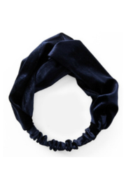 TopItm Headband Sara - Navy Velours