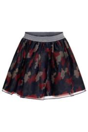 TopItm Mesh Skirt Paula - aop military