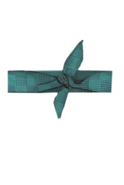 B.Nosy check hairband emerald