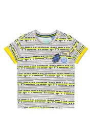 Quapi Baby Boys Shirt Berk - Empire Yellow Stripe