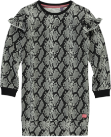 Quapi dress Tade - Grey Snake