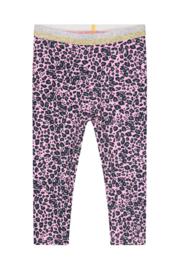 Quapi Baby Girls Legging Britta - Light Pink Leopard