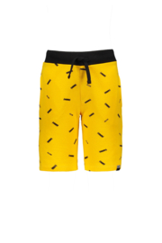 Moodstreet Boys Short aop Logo - Dark Yellow