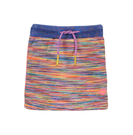 Kidz-Art Space Melange Bonded Skirt - Multi