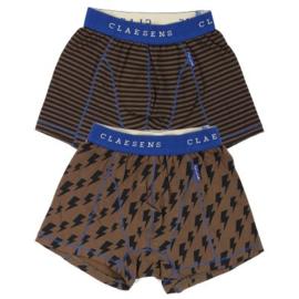CLAESEN'S BOYS 2-PACK BOXER 'THUNDER' CL208