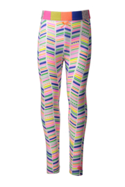 Kidz-Art legging all over print zigzag