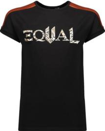 Nobell Girls Shirt Kamy - Jet Black