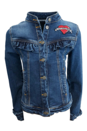 TopItm Jacket Isa - Jeans