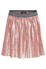 TopItm Velvet skirt Polly - old pink