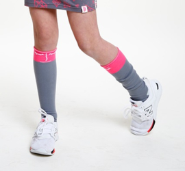 TopItm Socks Bianca Grey