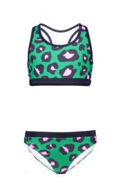 B.Nosy Sportive Bikini with Elastic - Jade Leopard