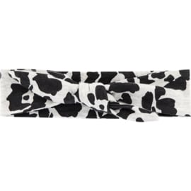 Quapi headband Ashley - Dark Grey Leopard