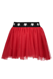 B.Nosy netting skirt with star elastic