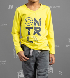 Quapi boys longsleeve Tamian - Yellow