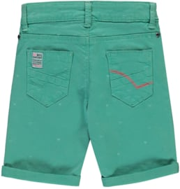 Quapi Twill short Sil 'Mint Triangle'