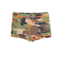 Claesen's boys  Tight Fit Swimshort - Army