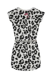 Quapi Dress Aafje - Dark Grey Leopard