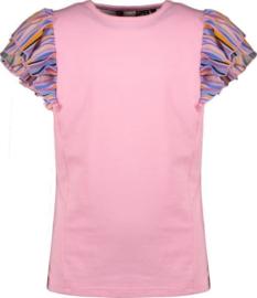 NoNo Girls t-shirt Kayla - Loving pink