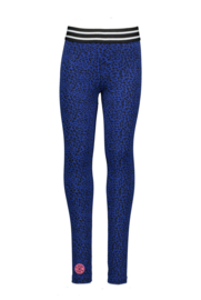 B.Nosy panther legging - Blue panther