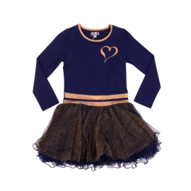 Lofff Dancing dress one heart - Darkblue - Gold