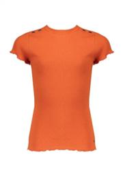 Nobell Girls Shirt rib Kima - Ginger
