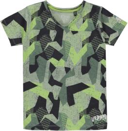 Quapi boys shirt Samuel 'Camo'