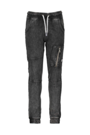 B.Nosy Boys Jog Denim Pants with Elastic Waistband - Grey Denim