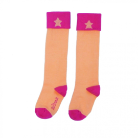 LoveStation22 Graphic Socks - Pink-Melon