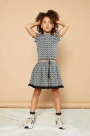 NoNo Meisjes jurk Mai - Anthracite