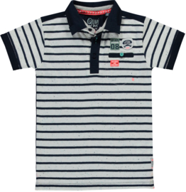 Quapi polo Shane 'Navy stripe'