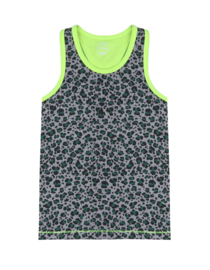 Claesen's Boys Singlet 'Green Leopard'