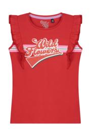 Quapi Shirt Alisse - Flame Red