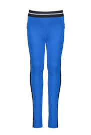 B.Nosy legging with side piece - Azure Blue