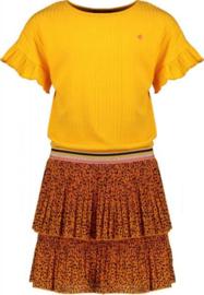 NoNo Meisjes jurk Manou - Blazing Orange
