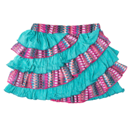 LoFff Ruffled Skirt Multicolour