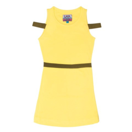 Lavalava Dress Haiti 'Light Yellow Neon'