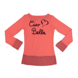 LoFff shirt Ciao Bella - Bright Peach