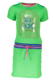 Kidz-Art dress with rib waist