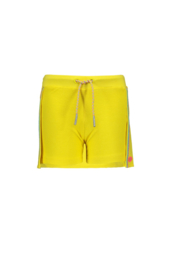 Kidz-Art Sweat Skort with stripe tapes + Waist cord - Yellow