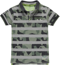 Quapi boys polo shirt Sander 'Camo Stripe'
