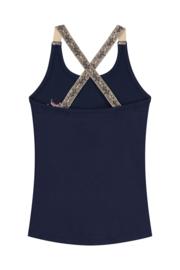 Quapi Top Amielle - Oxford Blue