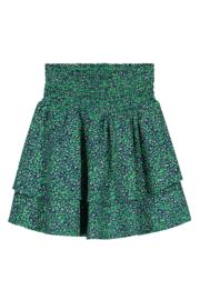 Quapi Skirt Anouska - Jungle Green Leopard