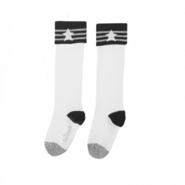 LoveStation22 Graphic Socks - Plain White