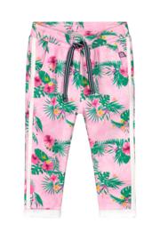 Quapi Baby Girls Sweatpants Britt - Light Pink Flower